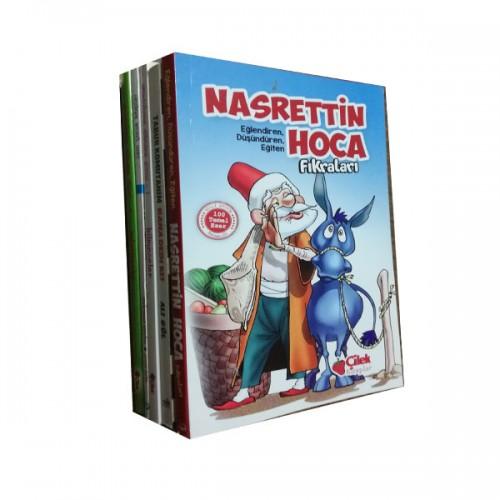 Ortaokul Hikaye Kitap bilmece ve tekerleme seti 5 Kitap