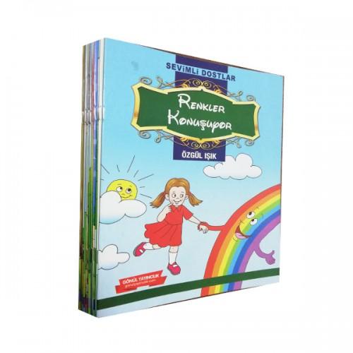 1 ve 2.Sınıf Sevimli Dostlar Serisi 15 Kitap