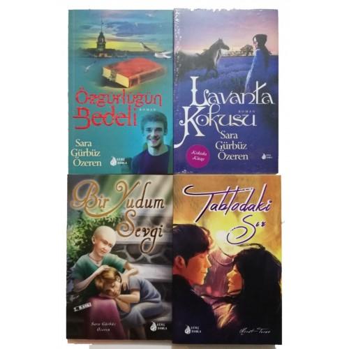 Genç Damla Roman Seti 4 Kitap