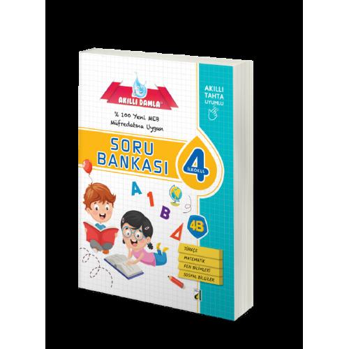Akıllı Damla Tüm Dersler Soru Bankası 4.Sınıf