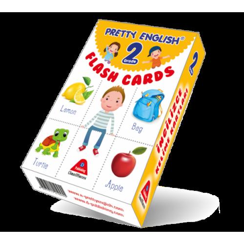 Pretty English Flash Cards Grade 2