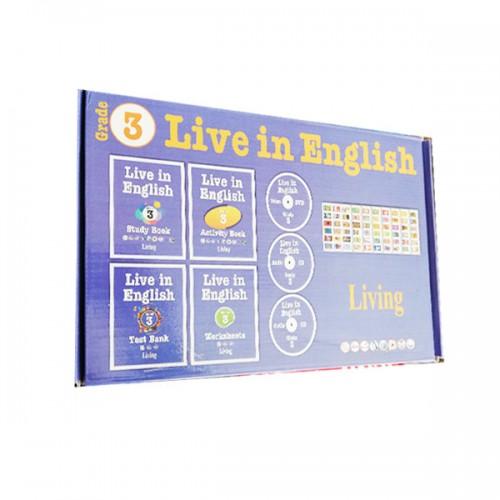 Live in English Grade 3 İngilizce Eğitim Seti