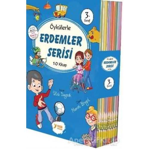 3.Sınıf Öykülerle Erdemler Serisi 10 Kitap
