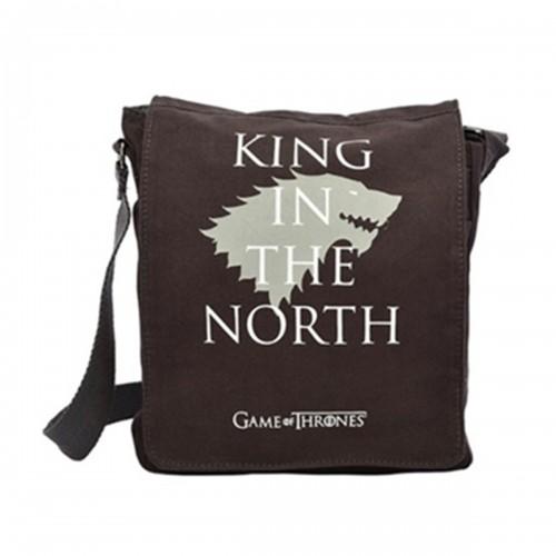 Game of Thrones Yan-Çapraz Çanta-Stark-Lisanslı