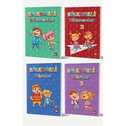 Eğlenceli Fıkralar ve Bilmeceler Seti 4 Kitap