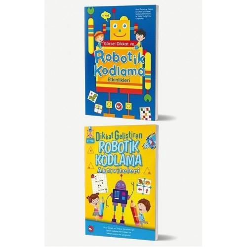 Robotik Kodlama Kitapları Seti 2 Kitap