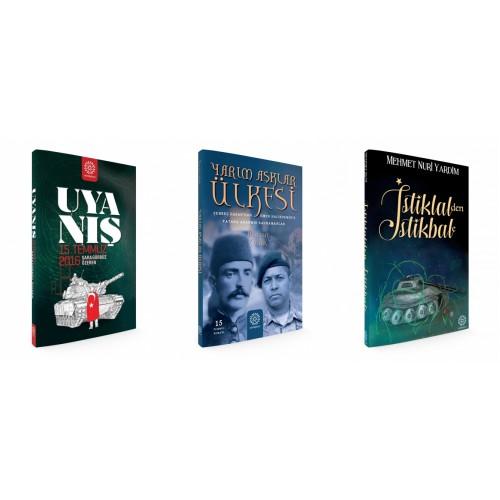 15 Temmuz Roman Seti 3 Kitap