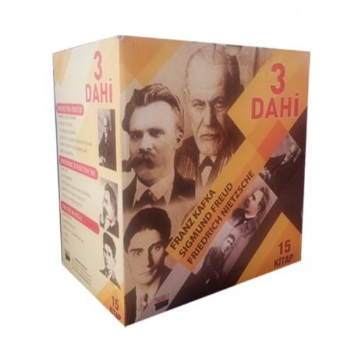 3 Dahi Psikoloji Seti Kafka Freud Nietzsche