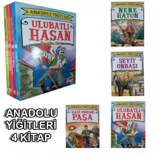 Anadolu Yiğitleri Hikaye Serisi 4 Kitap