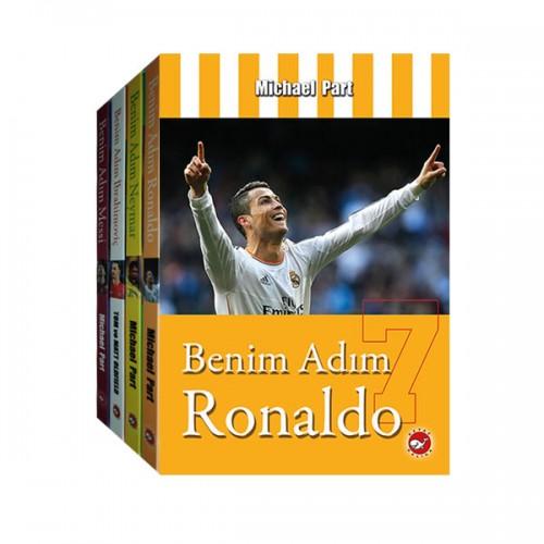 Benim Adım Ronaldo Messi Neymar İbrahimoviç 4 Kitap 4 Poster Seti