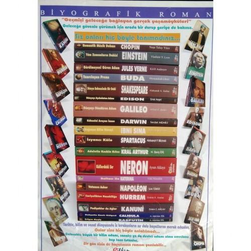 Biyografik Roman Seti 18 Kitap