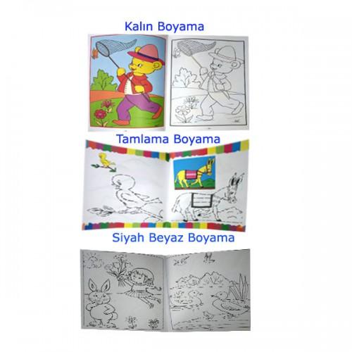 Boyama Seti 10 Kitap Okul öncesi 10 Boyama Kitabından Oluşan Bu Set