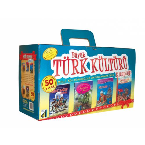 Büyük Türk Kültürü Kitaplığı Seti 50 Kitap