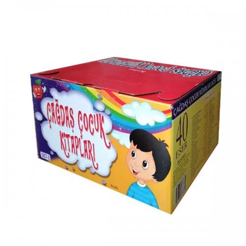 Ortaokul Çağdaş Çocuk Kitapları 2. Set 40 Kitap