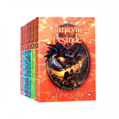 Canavar Peşinde Avantia Krallığı 6 Kitap (İlk Seri)