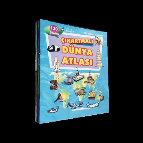 Çıkartmalı Kitaplar Ve Oyunlar Dizisi 6 Kitap