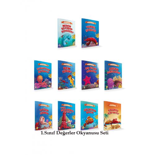 1.Sınıf Değerler Okyanusu Seti 10 Kitap