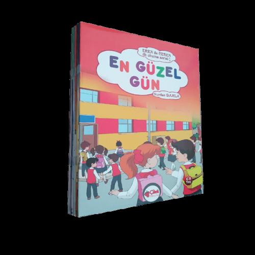 1. Sınıf Eren ile Ceren İlk Okuma Serisi 12 Kitap
