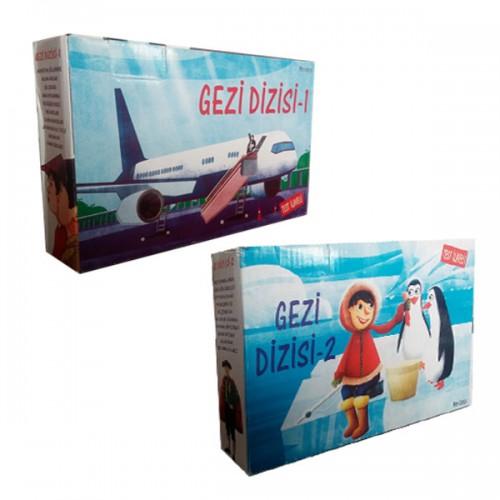3 ve 4.Sınıf  Gezi Dizisi Hikaye Seti 20 Kitap Testli