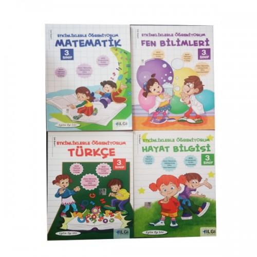 İlkokul 3.Sınıf Yardımcı Kaynak Kitapları Seti