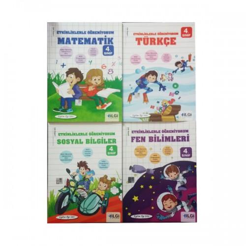 İlkokul 4 Sınıf Yardımcı Kaynak Kitap Seti
