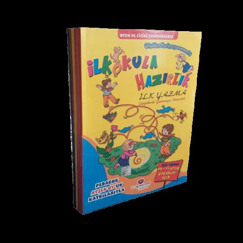 İlkokula Hazırlık ( Okuldan Korkmuyorum ) Seti 4 Kitap