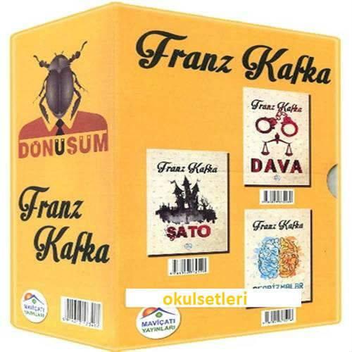 Franz Kafka Seti 5 Kitap
