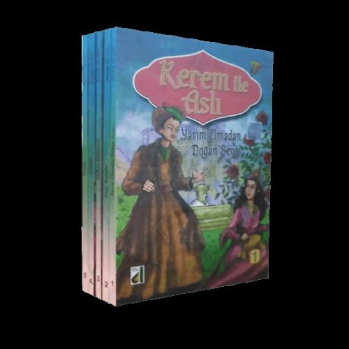 Kerem ile Aslı Ortaokul Kitap Seti 5 Kitap