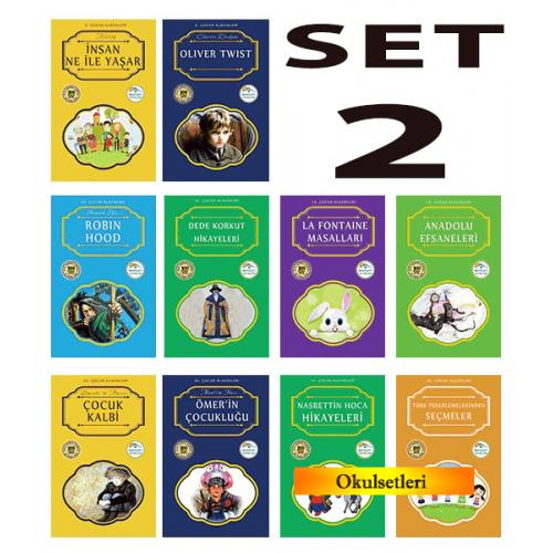 Mavi Çatı 100 Temel Eser Seti-2 10 Kitap