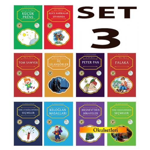 Mavi Çatı 100 Temel Eser Seti-3 10 Kitap