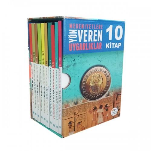 Medeniyete Yön Veren Uygarlıklar Seti 10 Kitap