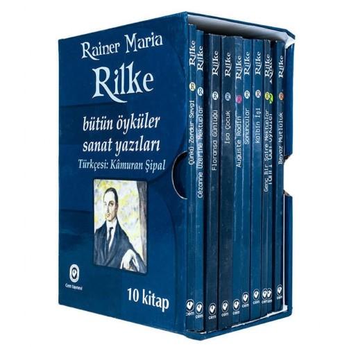 Rainer Maria Rilke Bütün Öyküler Seti 10 Kitap