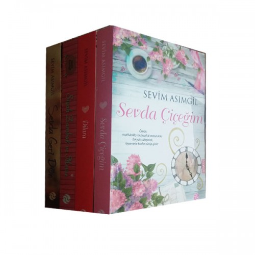 Sevim Asımgil Aşk Romanları Seti 7 Kitap