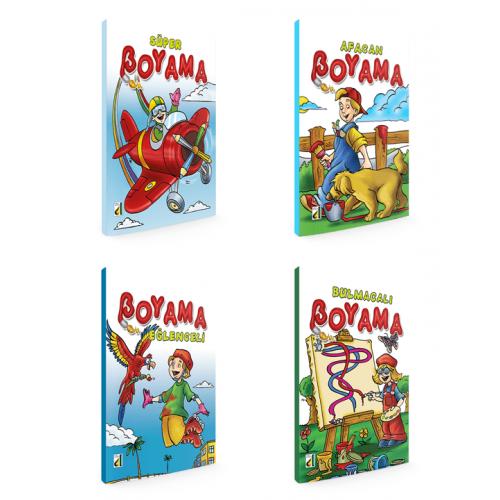 Okul Oncesi Super Boyama Kitabi Seti