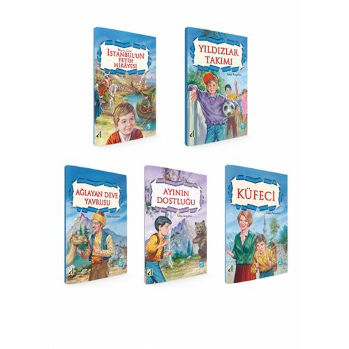 3 ve 4. Sınıf Talip Arışahin Serisi 5 Kitap
