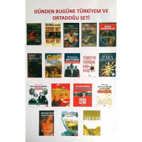 Türk ve Ortadoğu Kitap Seti Dünden Bugüne