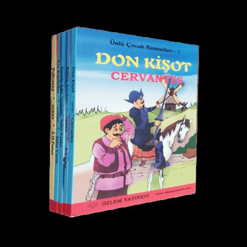 Ünlü Çocuk Romanları 5 Kitap